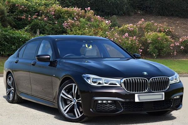 taxi bmw 7 series